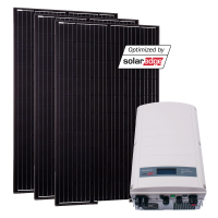 Grid-Kit Comfort SolarEdge/Ja-Solar 13 Modules